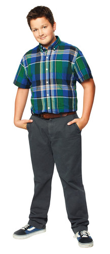 iCarly wallpaper probably containing flannel, a pantleg, and slacks titled Gibby