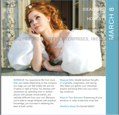 Giselle in Disneystrology book