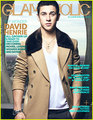 Glamaholic 2012 - david-henrie photo
