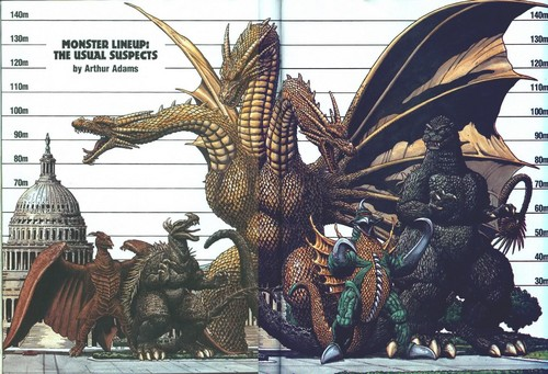 Godzilla wallpaper possibly containing anime entitled Godzilla