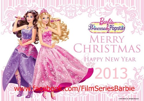 Barbie Movies wallpaper probably with a dinner dress, a gown, and a balldress titled HAPPY NEW YEAR 2013