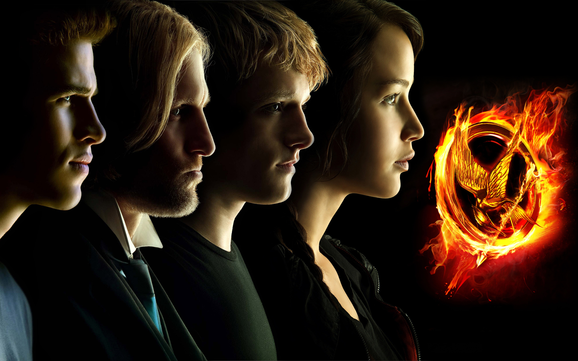 hunger games main characters