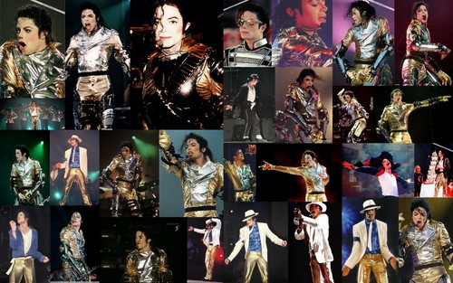 Michael Jackson wallpaper entitled HIStory tour collage