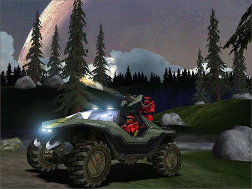 Halo CE screenshot (PC version)