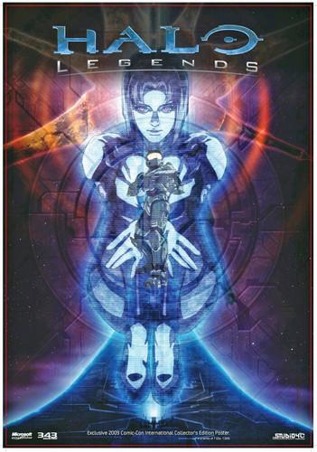 Halo Legends Poster