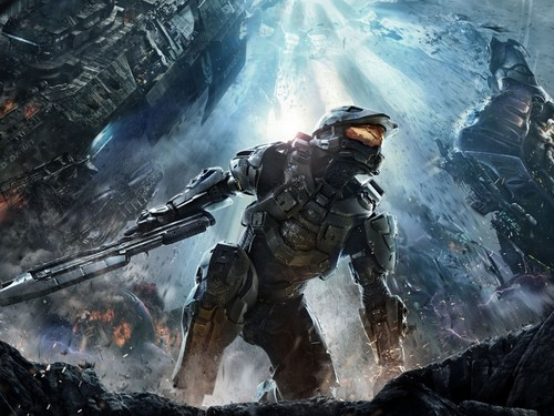 Halo wallpaper containing a rifleman titled Halo wallpaper