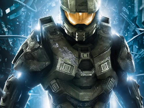 Halo wallpaper with a breastplate and an armor plate titled Halo wallpaper
