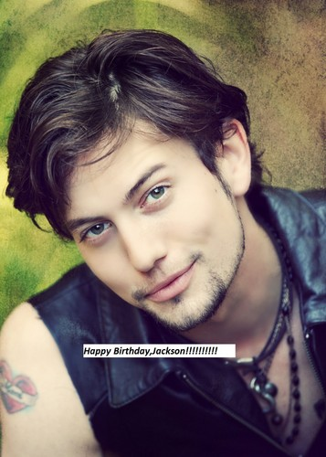 Jackson Rathbone & Ashley Greene پیپر وال with a portrait titled Happy Birthday,Jackson!!! (Dec.21)