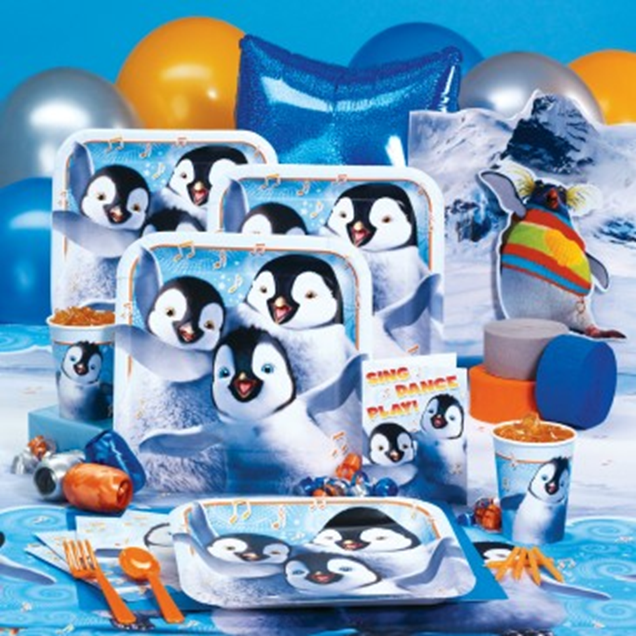 Happy Feet 2 Images Party Decorations HD Wallpaper And Background Photos