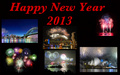 gimp - Happy New Year 2013 wallpaper