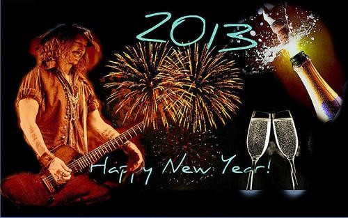 Happy New বছর Johnny