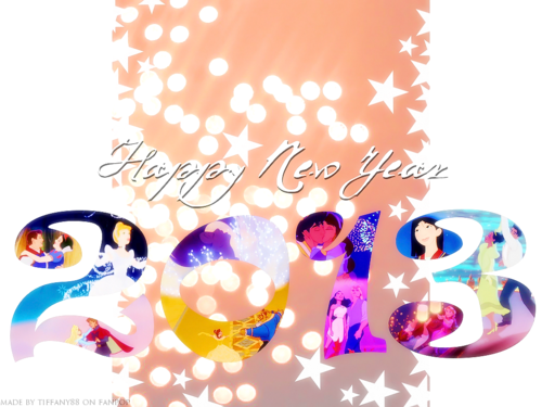 Happy New 年 Princess ファン ^^