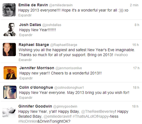 Happy New Year!! - Twitter [OUAT cast]