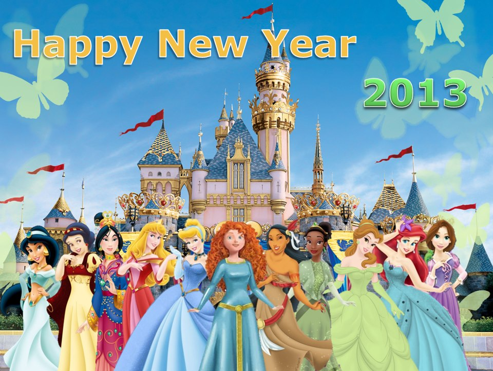 disney princess images happy new year hd wallpaper and background photos