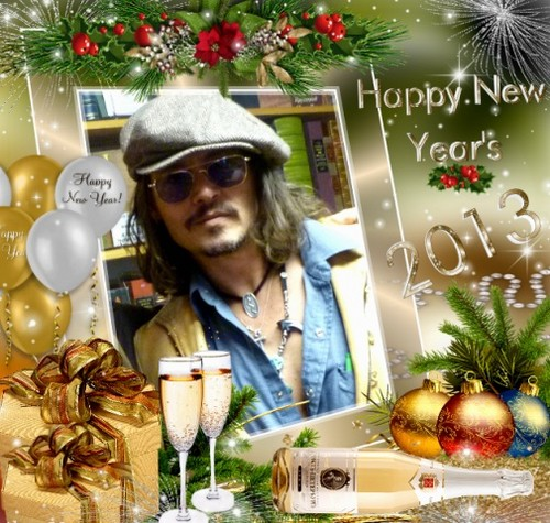 Johnny Depp- Happy New Year