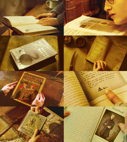 Harry Potter + books