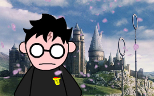 Snape's Family and 老友记 壁纸 entitled Harry in Blossoms