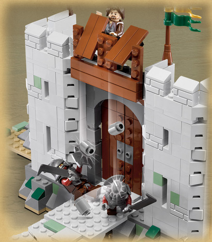 Helm's Deep Lego collection