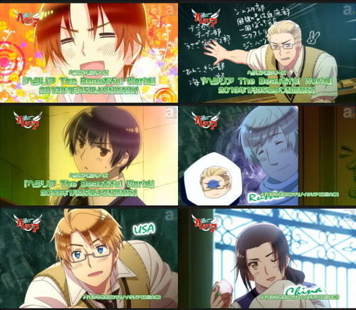 Hetalia wallpaper possibly containing anime entitled Hetalia Season 5 Art