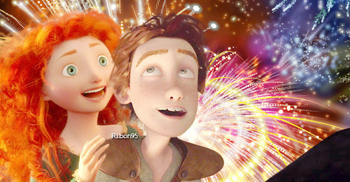 Hiccup/Merida - Happy New Year!