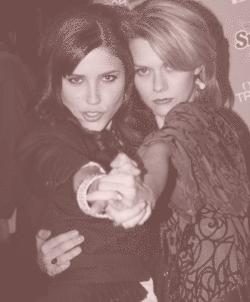 Hilarie and Sophia