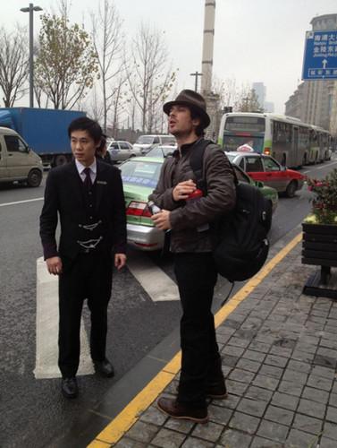 IAN leaving shanghai 29 DEC 2012