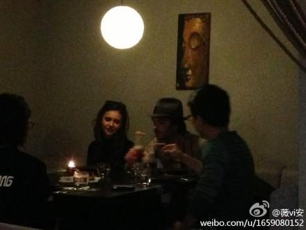 Ian and Nina have chajio, chakula cha jioni in China