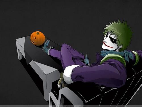 Ichigo as the joker
