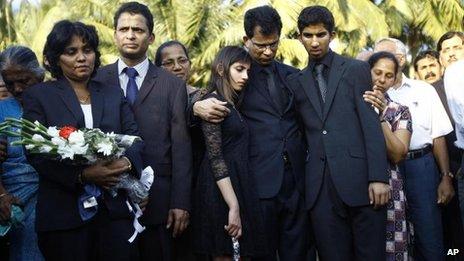 Jacintha Saldanha funeral