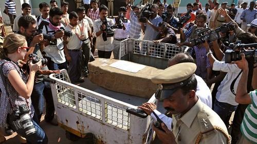 Jacintha Saldanha's funeral