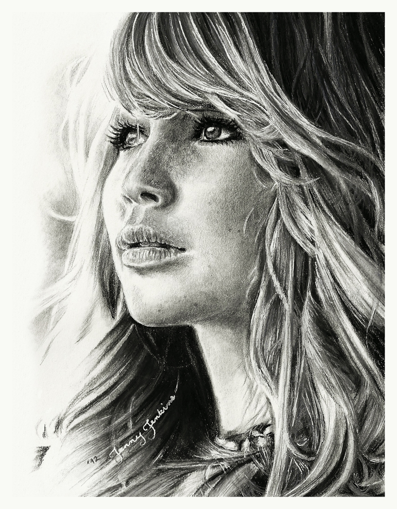Jennifer lawrence images jennifer lawrence pencil drawing hd wallpaper and background photos
