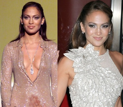Jennifer Lopez then and now [1999, 2011]