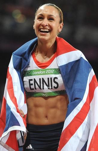 London 2012 Olympics wallpaper titled Jessica Ennis London 2012