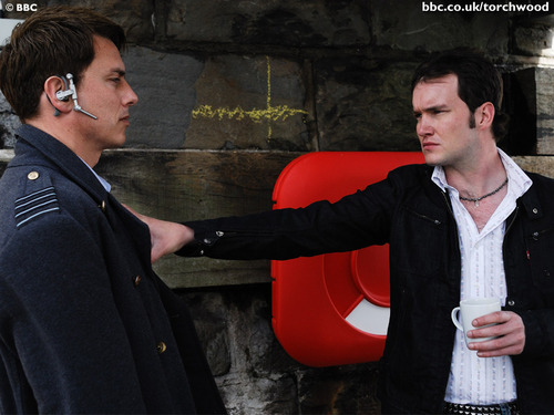 John Barrowman and Gareth David Lloyd