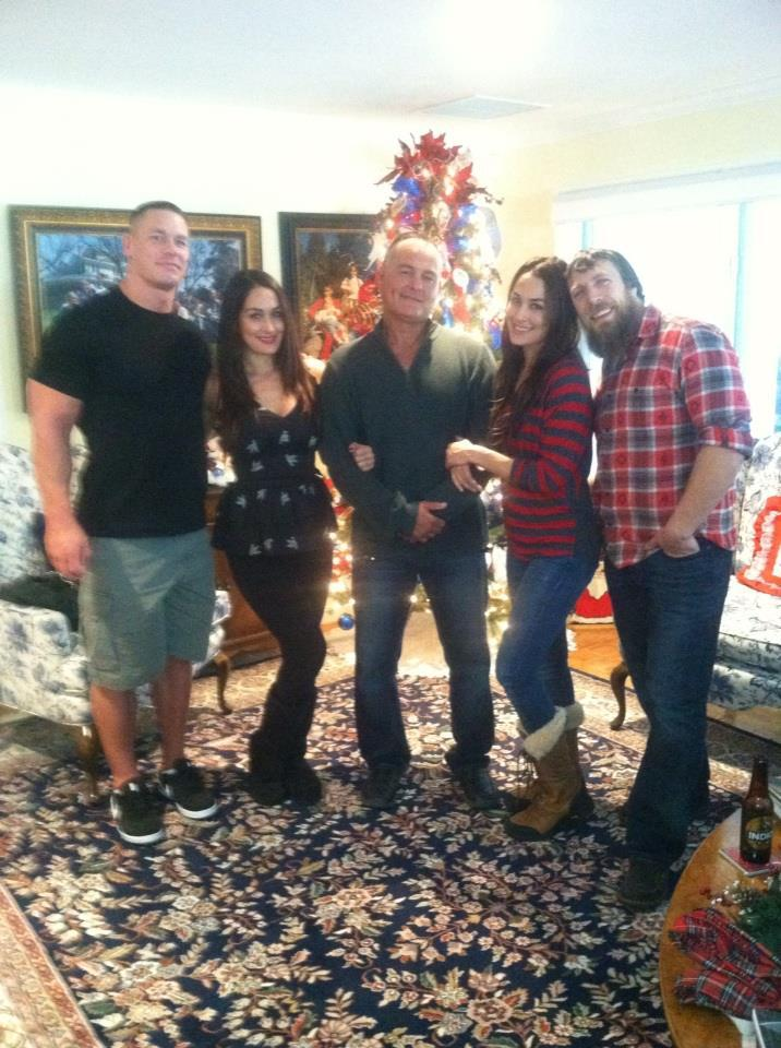 Daniel and Nikki Bella John Cena