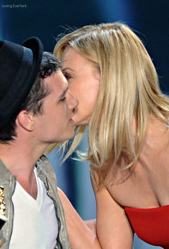Josh & Charlize Theron