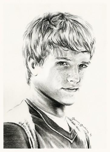 Josh Hutcherson pencil drawing