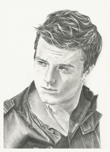 Josh Hutcherson pencil drawing