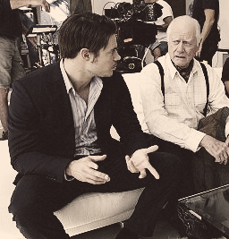 Josh & Larry Hagman