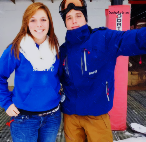 Josh with a fan yesterday (12.26.2012)