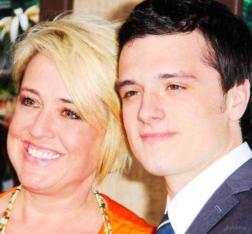 Josh with his mom