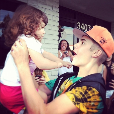 Justin With fãs