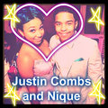 Justin and Zoniqque at her party :) - star-omg-girlz fan art