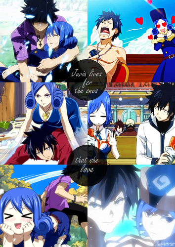 Juvia lifes for the ones she loves !