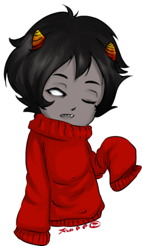 Homestuck پیپر وال possibly containing عملی حکمت called Kankri in that adorable sweater of his~!