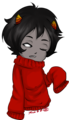 Kankri in that adorable sweater of his~! - homestuck fan art