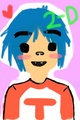Kawaii 2D - gorillaz fan art