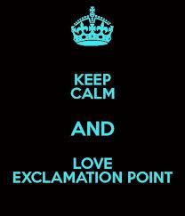 Keep Calm Excaminites