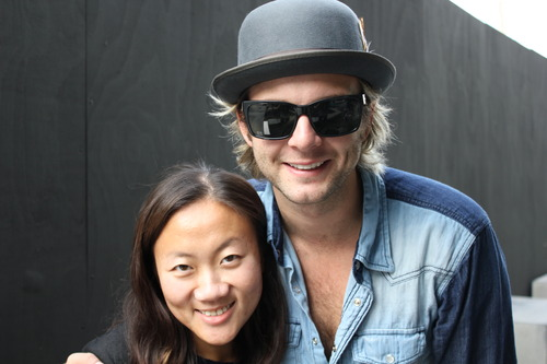 Keith Harkin wallpaper called Keith with a fan