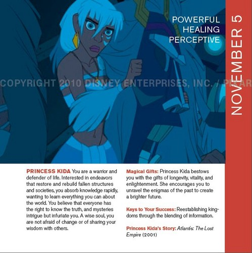 Kida in Disneystrology book